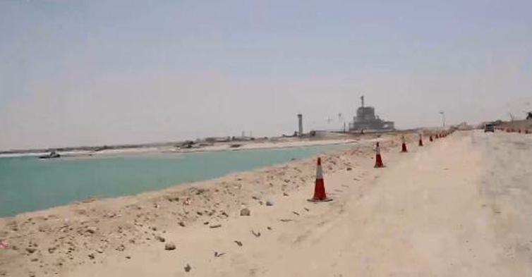 神奇!保护区里建电站――走进中东首个清洁燃煤电站建设工地