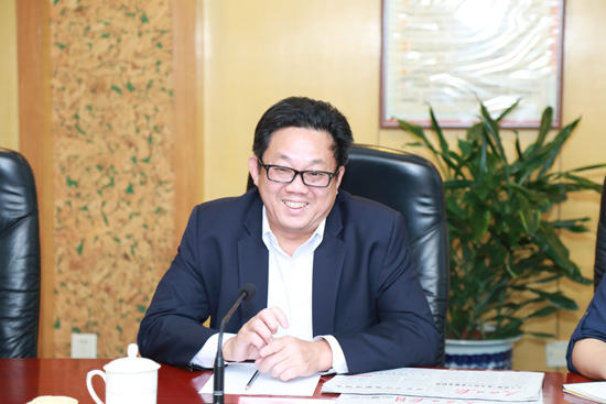 新加坡报业控股集团执行总裁伍逸松(摄影:李国良)