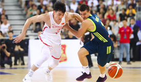 中斯国际男篮对抗赛 蓝队79-66斯洛文尼亚