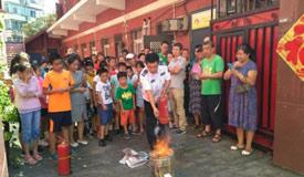 丰台消防安全教育伴青少年安全过暑假