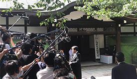 日本多名政客参拜靖国神社