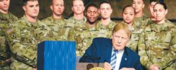 """美国力保军事霸主地位所谓的外部""""威胁""""不过是借口,选票、霸权才是特朗普政府眼中真正的目标。[阅读]"""