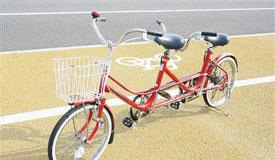 智能自行车道 用可再生塑料建成