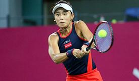 高清:WTA广州网球公开赛 王蔷挺进决赛