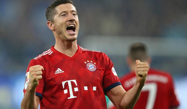 德甲- J罗莱万建功 沙尔克0:2负拜仁
