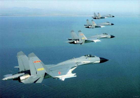 澳媒:中国空军瞄准蓝水行动
