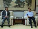 9月27日上午,李宝善社长在报社会见了日本驻华大使横井裕一行。[阅读]