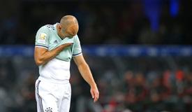 德甲-拜仁0-2客负柏林赫塔 4场不胜
