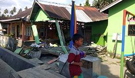 印尼7.4级地震引发海啸