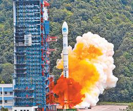 第三十九、四十顆北斗導航衛星成功發射