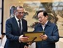10月16日下午,李宝善社长在报社会见了以色列驻华大使何泽伟一行。[阅读]