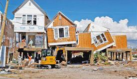 4级飓风登陆美国 已造成26人死亡