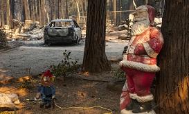 加州山火肆虐 25人遇难25万人紧急撤离