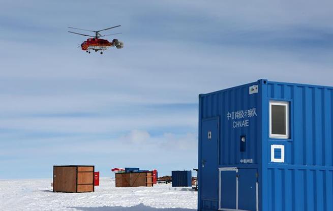 中国科考队为出征南极大陆腹地做准备