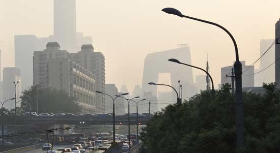 京津冀及周边未来10天或现重度污染