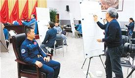 文藝志願者走進北京航天城