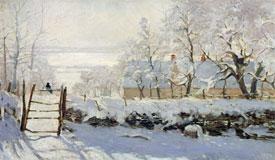 美了千百年 中外名家筆下的雪景圖
