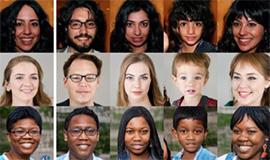 人工智能算法生成人像照片 難分真假