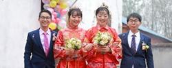 """新春婚俗""""簡""""而美近年,很多新人的婚俗儀式形成了簡朴、文明的""""新風尚""""。﹝閱讀﹞"""