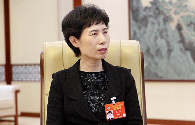 全国政协委员、中国贸促会会长高燕:推动全方位对外开放 促进外贸稳中提质