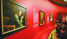 靳尚谊向中国美术馆捐赠35件作品