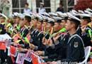 庆祝人民海军成立70年,多国海军活动联合军乐展示在青岛举行。你喜欢哪个节目?[阅读]
