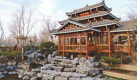 广西园:花湖映楼 绚丽家园