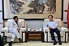 李宝善社长5月17日会见巴基斯坦《每日邮报》社长兼总编辑马克东・巴伯一行。[阅读]
