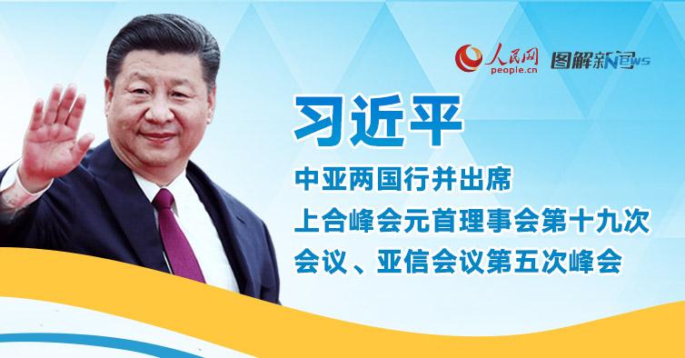 习近平中亚两国行并出席上合组织峰会、亚信峰会前瞻