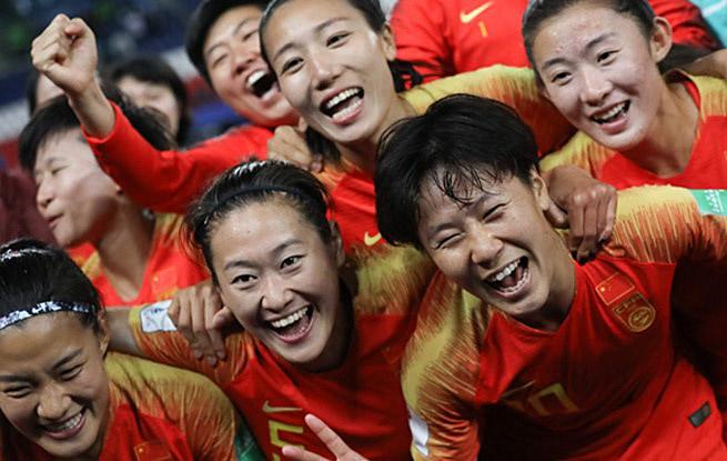 女足世界杯B组:必威体育队战胜南非队