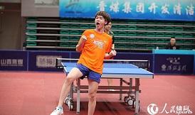 二青会-乒乓球社会俱乐部组男团决赛结束