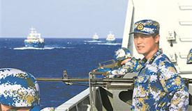 深蓝航迹见证中国担当