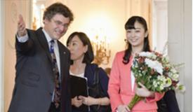 日本佳子公主首次外访奥地利