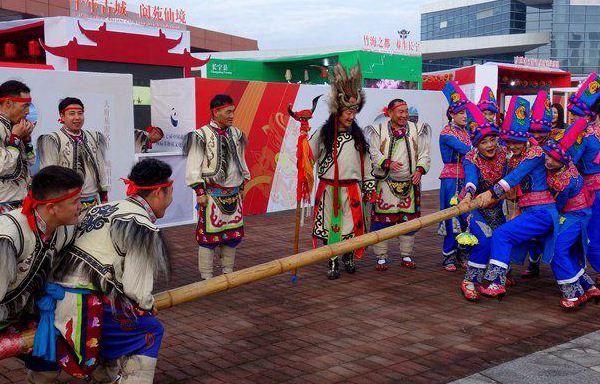 第七届中国成都国际非物质文化遗产节开幕