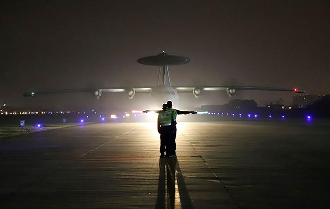 猎鹰亮剑海天,多机型跨昼夜侦天探海