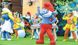 蓝精灵乐园在上海开园