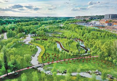 塞上绿洲——榆溪河生态长廊