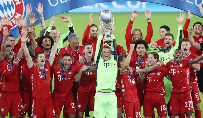 超级杯-拜仁2:1胜塞维利亚逆转夺冠
