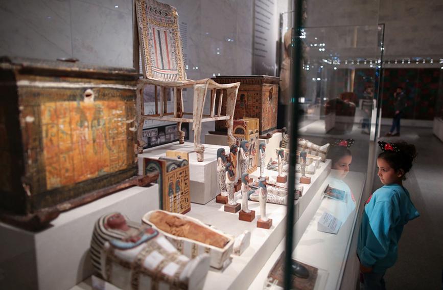 埃及文明博物馆正式向公众开放