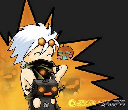 《龙与地下城》原创职业漫画同人之机械师--动寒王漫画图片