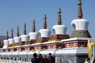 藏区黄教六大寺院之一-塔尔寺