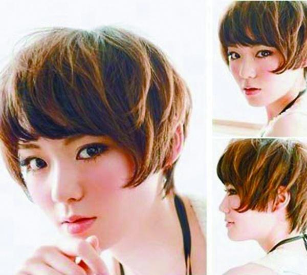 夏日三款自然清凉发型图片