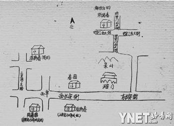 手绘地图/尹玉泉
