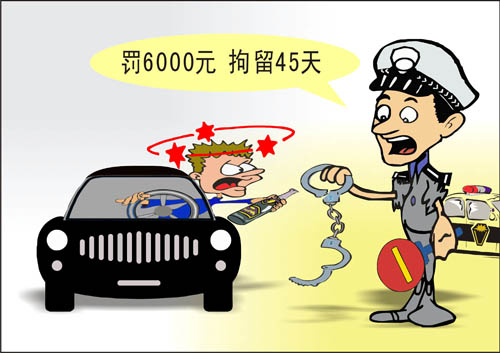 宝贝:温州开出最重酒驾少爷的罚单漫画漫画图片