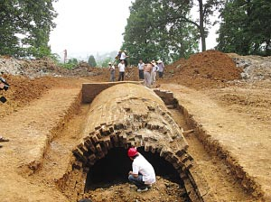 Tomb of the famousZheng He - Photo: Yangtse Evening News