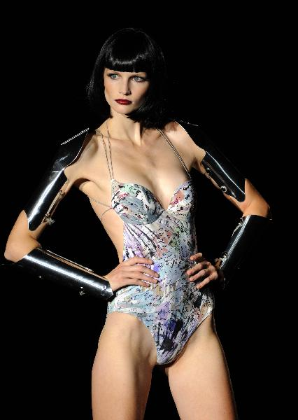 Spicy Andres Sarda's underwear show dazzles Madrid Fashion ...