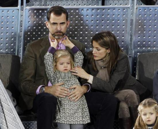 Spanish Royal Family Watch Federer Nadal S Charity Match 2 People S Daily Online