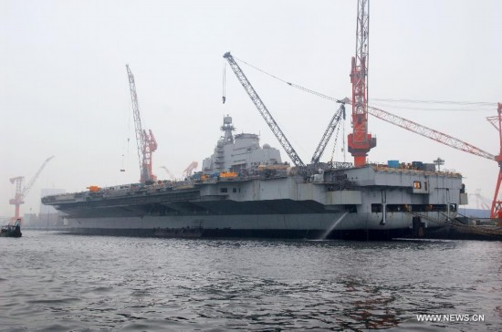 China builds aircraft carrier for defense - 2011 - 2011