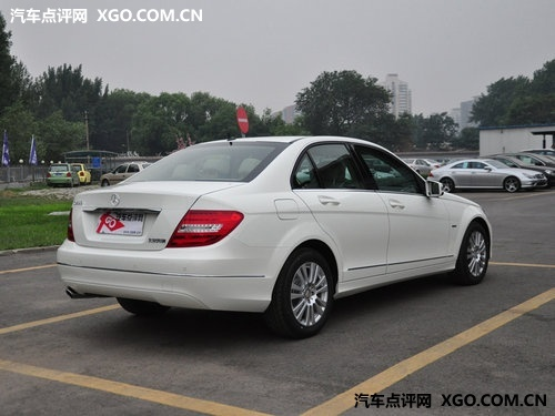 2013款北京奔驰c200_