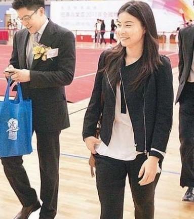 郭晶晶霍启刚今日注册 揭体坛11大美女豪门恋情图片